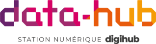 Logo Data-Hub Centre de donnees du Digihub